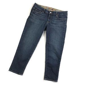 Paige Denim Roxbury Blue Crop Jeans / 29